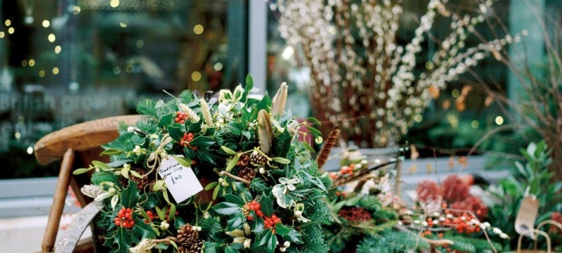 New Christmas Pop Up at Regent Arcade to Showcase Great British Flowers