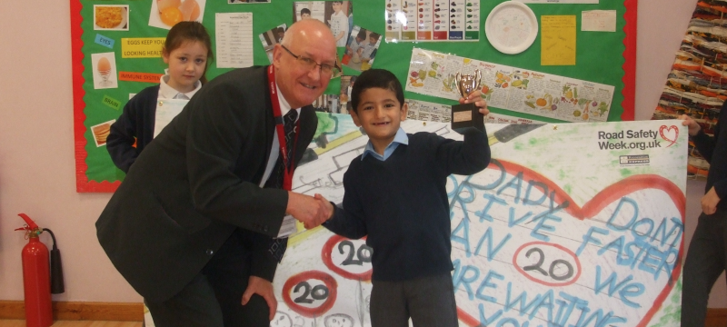 Radstock Primary School Announced Winner of Road Safety Competition