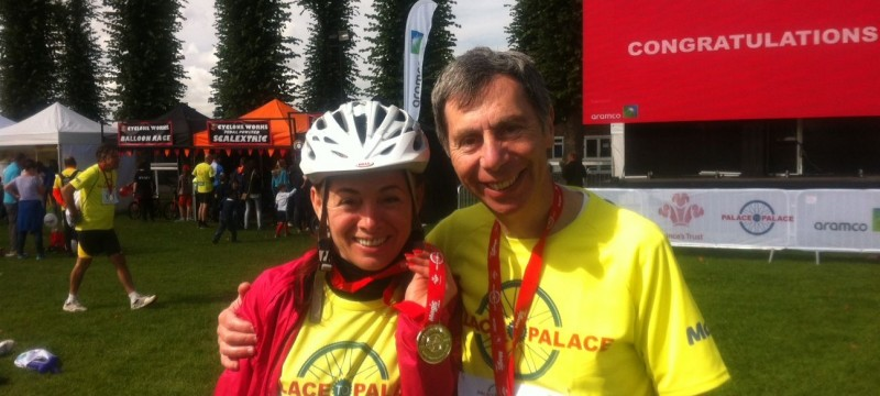 The ZipYard Staines takes on cycling challenge