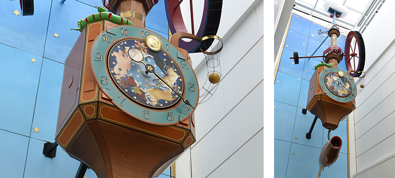 Wishing Fish Clock Back in Action at Regent Arcade